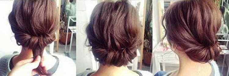 быстрые прически на короткие волосы в школу девочке