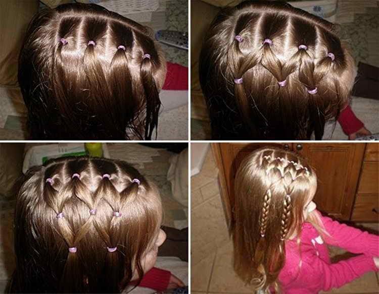 Ромбики на короткие волосы