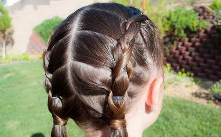 прически на короткие волосы фото в школу