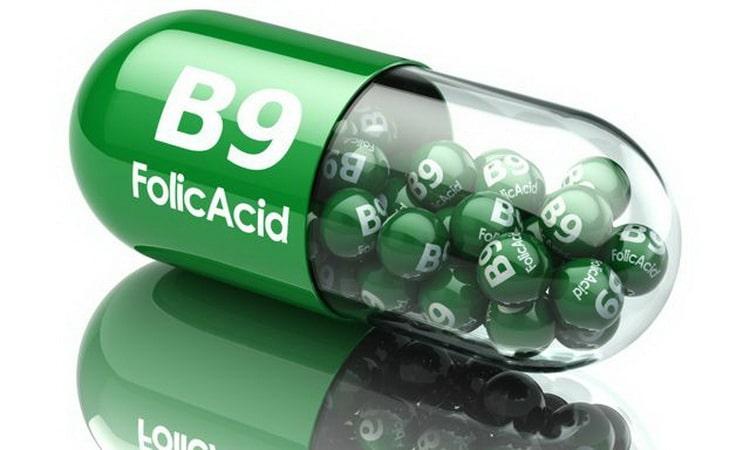 Фолиевая кислота (В9) что она делает