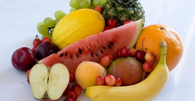 На последний день диеты едят фрукты.