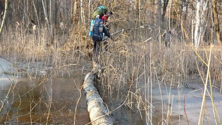 А вот пересечь болото во сне это добрый знак.