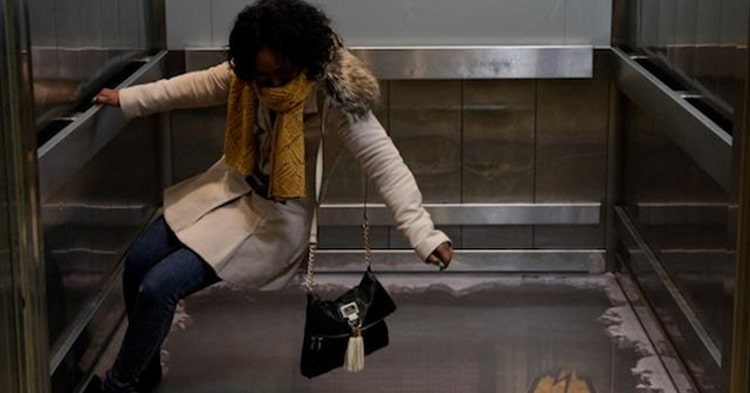 К чему снится падение в лифте