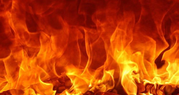 к чему снится огонь пожар по соннику Нострадамуса