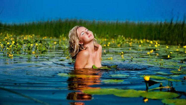 По соннику купаться в реке это хорошо, если она чистая, конечно.