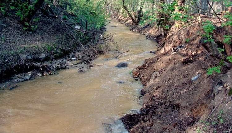 Узнайте, к чему снится грязная река.