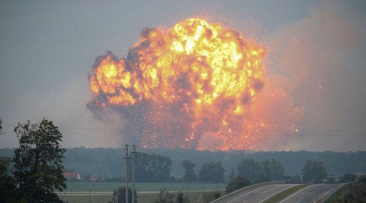 Узнайте, к чему снится взрыв бомбы.