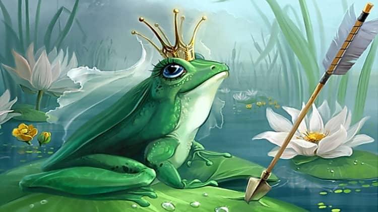 сонник лягушка большая по романтическому соннику