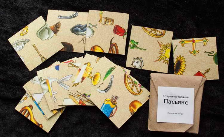 Купить карты для гадания пасьянс гадание на картах четыре карты ленорман