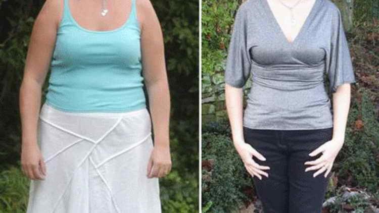 гречнева кефирная диета до и после