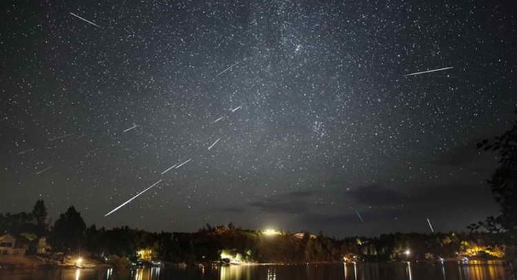 сонник звездопад на ночном небе
