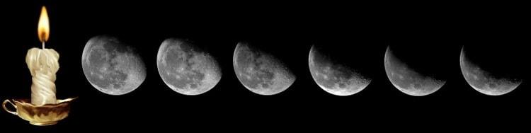 Заговор на убывающую луну на похудение читать