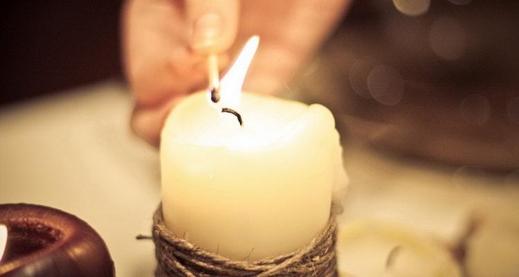 Читать заговоры по свече на любовь мужчины на расстоянии