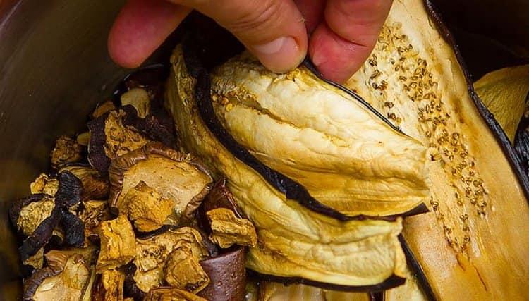 Многим нравится также сушить баклажаны.