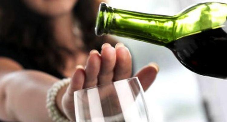 При диете Любимая нужно полностью отказаться от алкоголя.