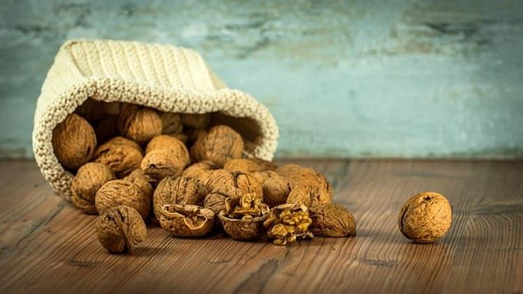 В правильных условиях орехи хранятся довольно долго.