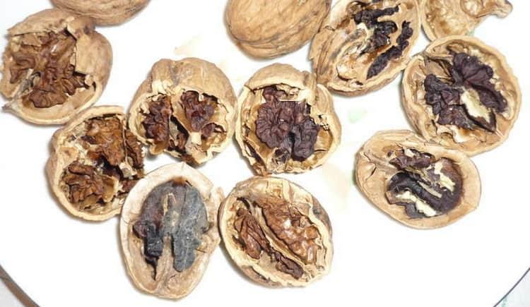 Не жалея, выбрасывайте подпорченные орехи, дабы не отравиться.