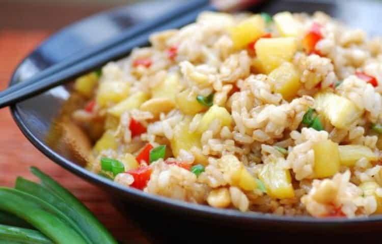 сколько калорий в отварном рисе