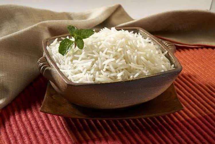 рис отварной калорийность на 100 грамм