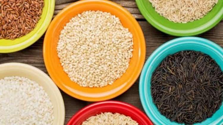 калорийность риса отварного на воде с солью