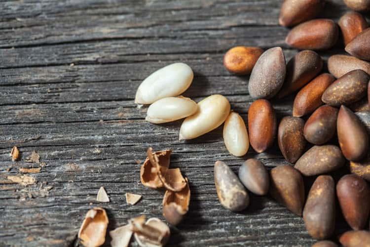 кедровые орехи польза для мужчин и вред