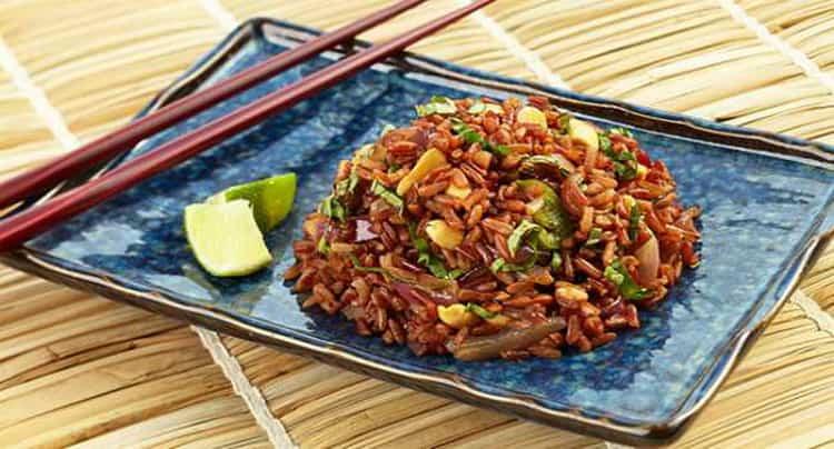 красный рис рубин польза и вред