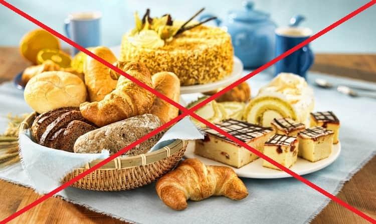 Есть ряд запрещенных продуктов при такой диете.