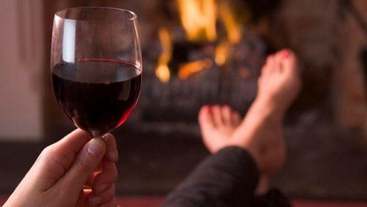 на этой диете можно даже выпить вина.