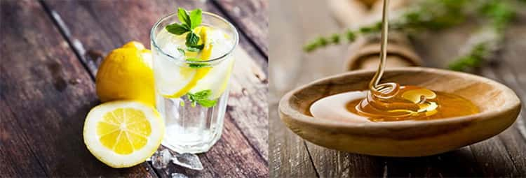 лимон с медом польза и вред