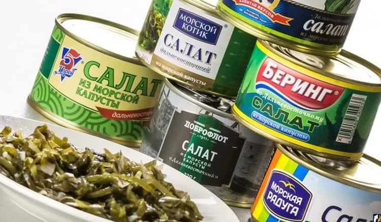 Если покупаете консервированную морскую капусту, обращайте внимание на сроки хранения продукта.