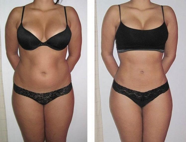 В совокупности с физическими упражнениями диета дает прекрасные результаты.