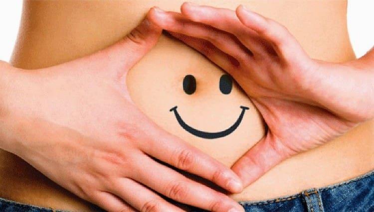 такая диета способствует ощущению легкости с желудке.
