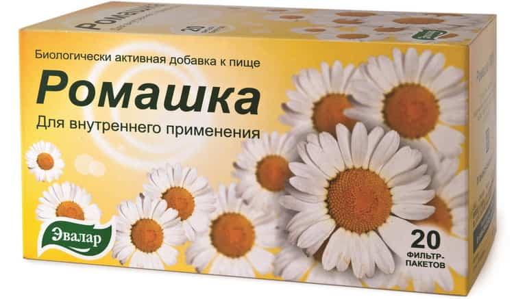 ромашковый чай польза для детей
