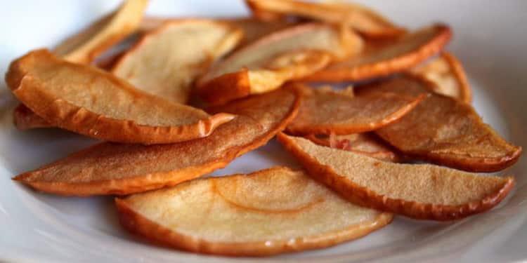 сушеные яблоки польза и вред для похудения