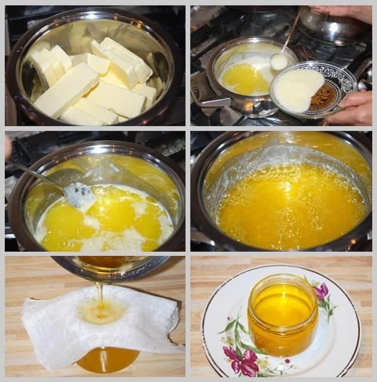 Топленое масло: свойства, польза и вред для организма