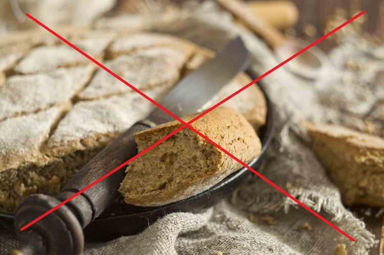 бездрожжевой хлеб вред
