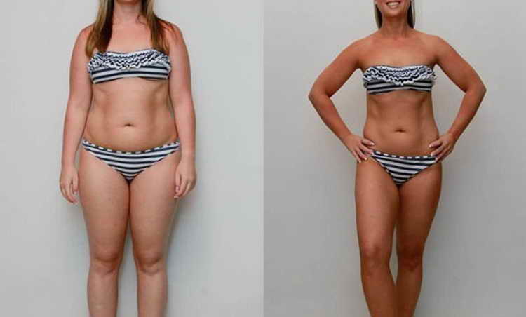 диета 5 ложек до и после