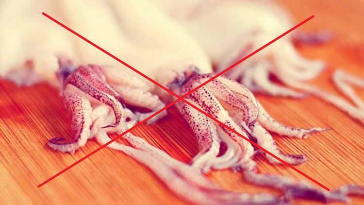 польза кальмаров для женщин