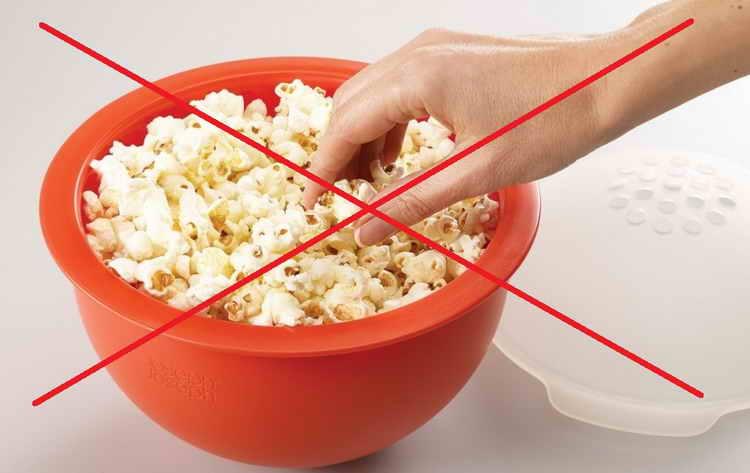 Вред попкорна для здоровья