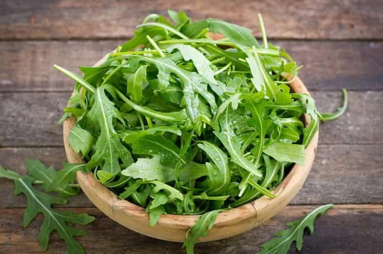 Салат руккола: свойства, польза и вред