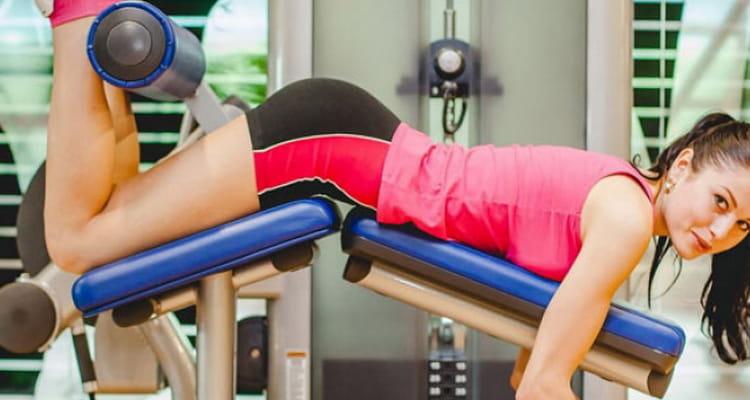 Сгибание ног лежа упражнение для похудение ног