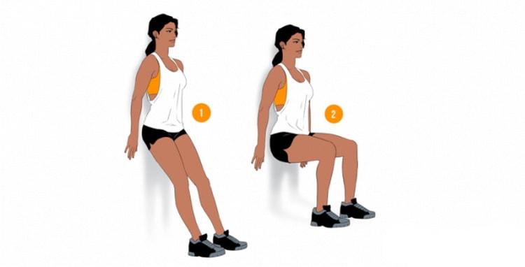 Стульчик эффективное упражнения для похудения ног и ляшек