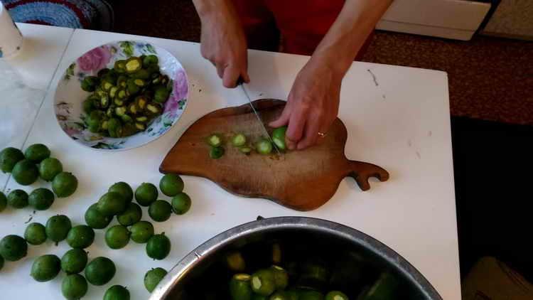 варенье из грецких орехов зеленых польза рецепт