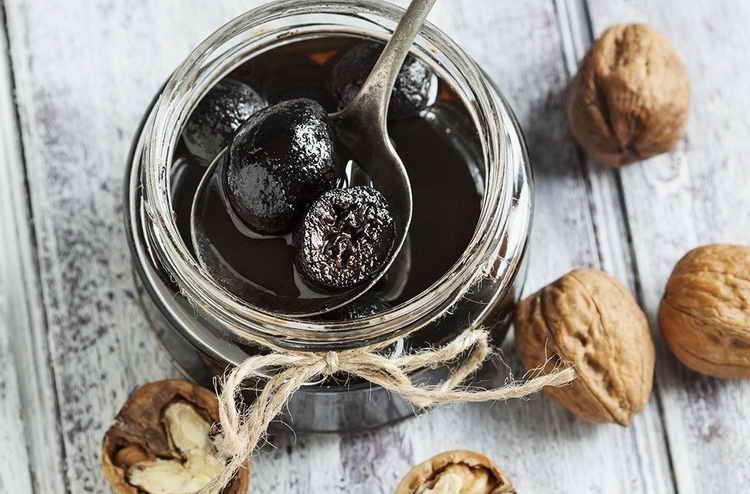 как употреблять варенье из грецкого ореха
