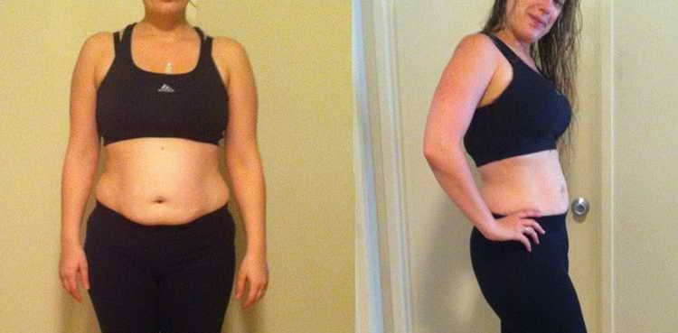 яблочная диета фото до и после