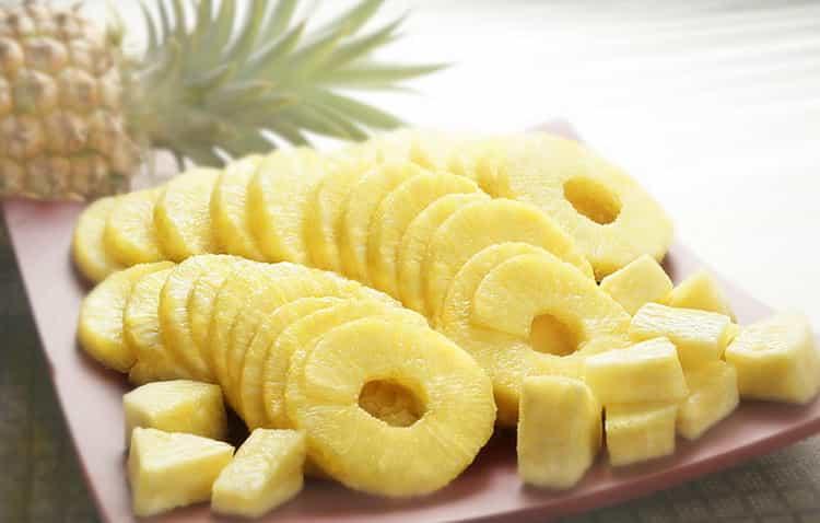 Какая калорийность ананаса