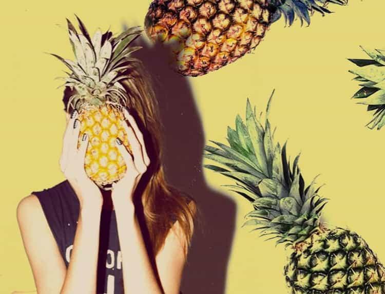 сколько калорий в ананасе