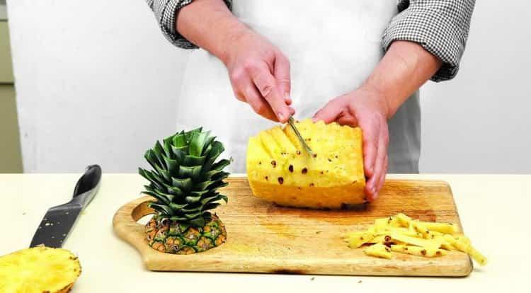 сушеный ананас: калорийность