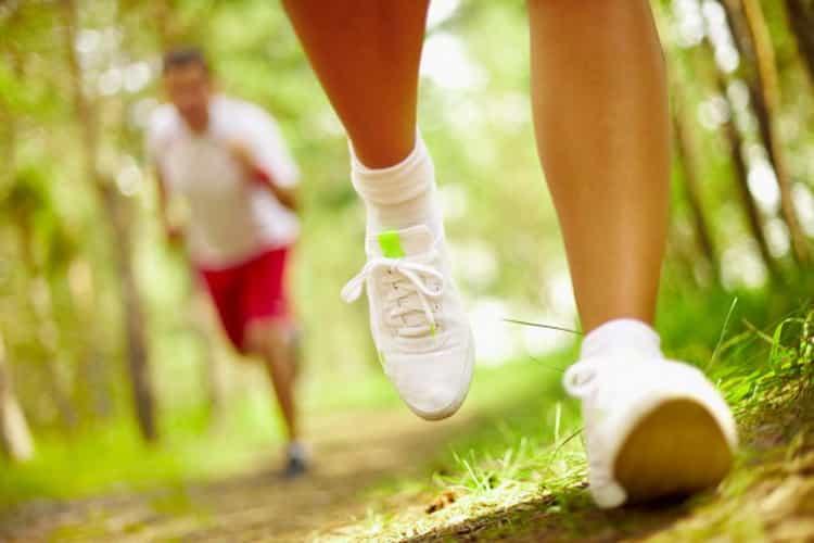 бег по лестнице в подъезде для похудения