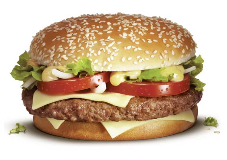 Биг Тейсти в Макдональдс: калорийность, белки, жиры, углеводы
